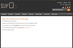 Custom Error Page - example 1